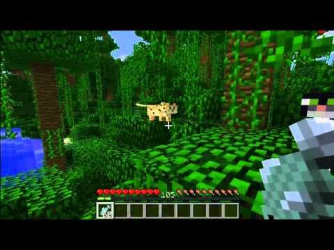 Jungla con Ocelotes y Aldea!! | Seed Minecraft PE 0.12.X ...