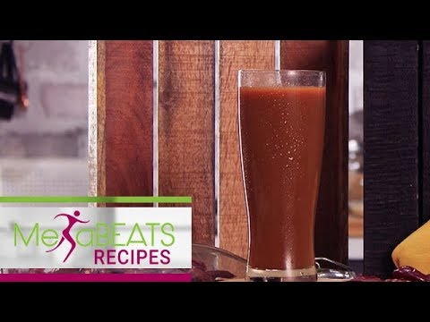 Carrot And Spinach Smoothie | Metabeats Recipe