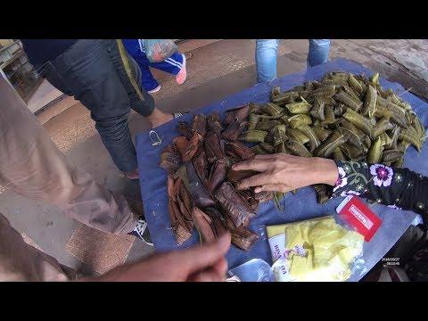 Indonesia Palembang Street Food 3631 Kue Pipis Tradisional Pasar KM 5 YDXJ0768