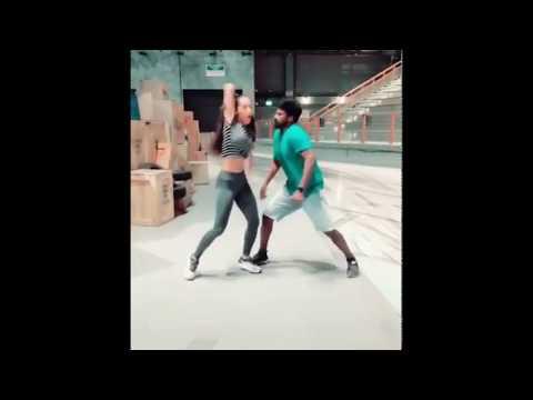 Sema Dance #Tamil Dancer With #Filipino Girl #Dance Club #Club Dance #Dubai