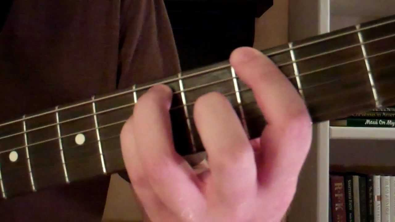 How To Play The G5 Power Chord On Guitar Youtube