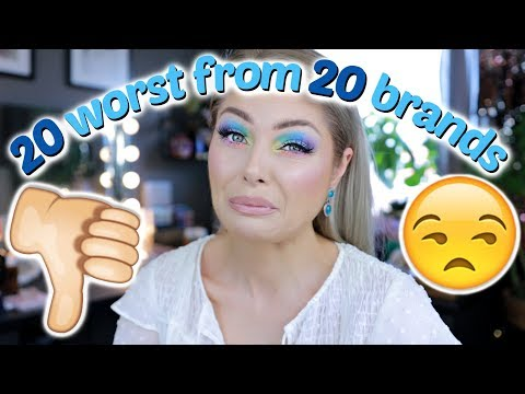 20 WORST Makeup Products From 20 Brands In Under 20 Minutes thumbnail