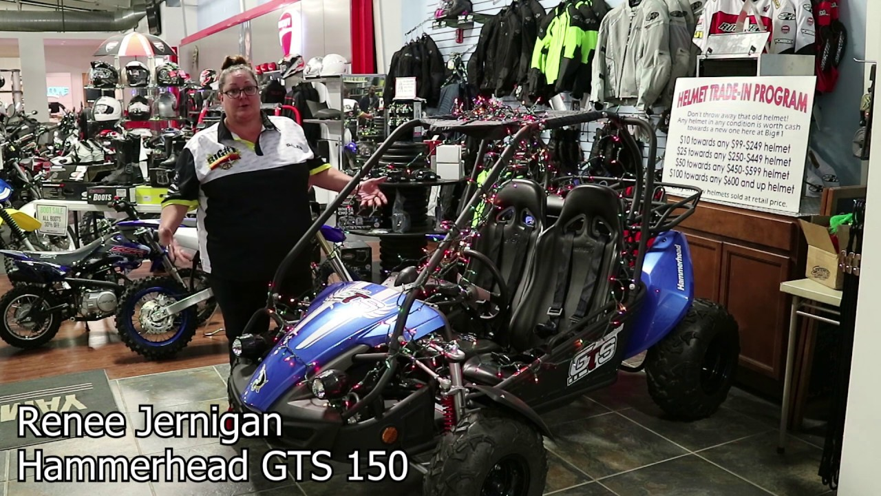 Hammerhead GTS 150 go-kart walk-around