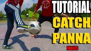 Learn Amazing PANNA Skill TUTORIAL ★ Football Soccer Neymar/Ronaldo SKILLS