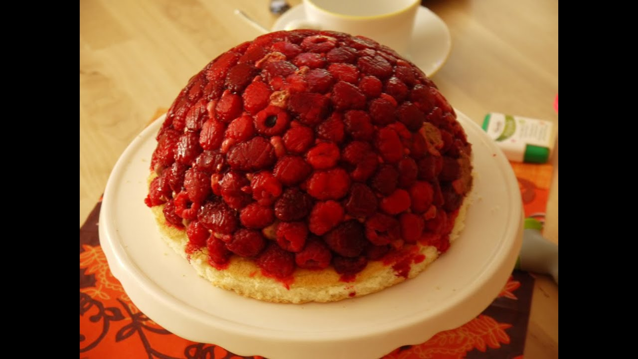 rezept kuppeltorte erdbeeren
