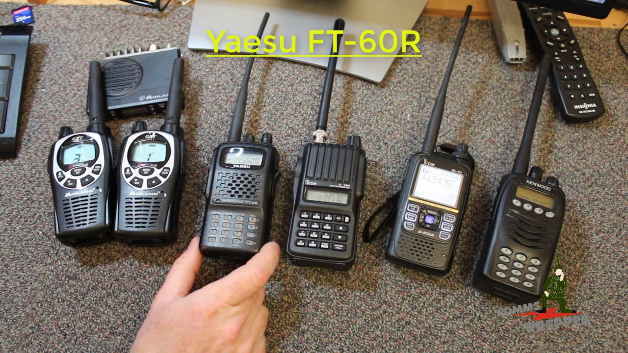 Handheld Radio Selection for Preppers