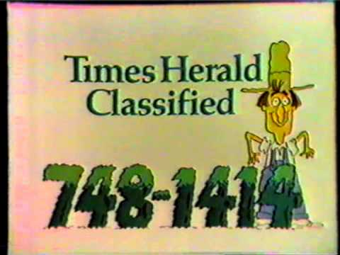 748-1414 Dallas Times Herald Classifieds