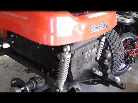 Simplicity Broadmoor Transmission Oil Change YouTube