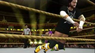 WWE SmackDown vs. RAW 2011: 619 Rey Mysterio vs CM Punk
