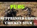 PUBG - Duo Suppressed Groza Chicken Dinner!!! - Playerunknown's Battlegrounds fun with Lowell #1