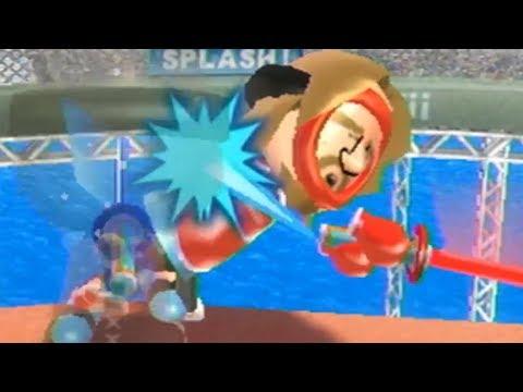 Killing Miis For Sport in Wii Sports Resort