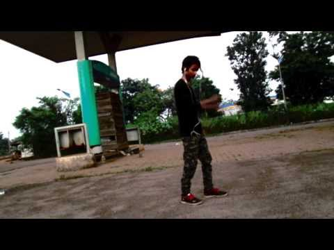 Marquese Cotts Cinema First Attempt In Dubstep Dance By M-rock Angel