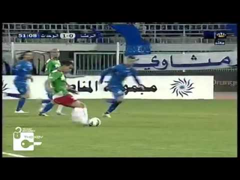 Motaz Salhani (Al Wehdat) The luckiest Amazing Goal EVER! vs Al Ramtha 15-03-2014