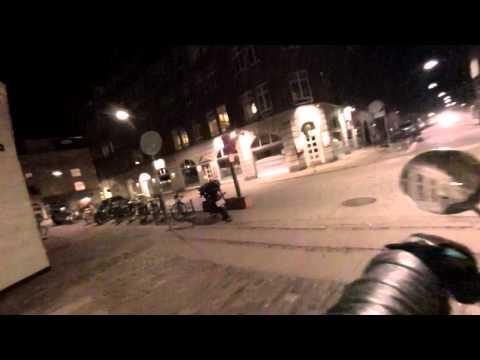 copenhagen and CARLSBERG by night
