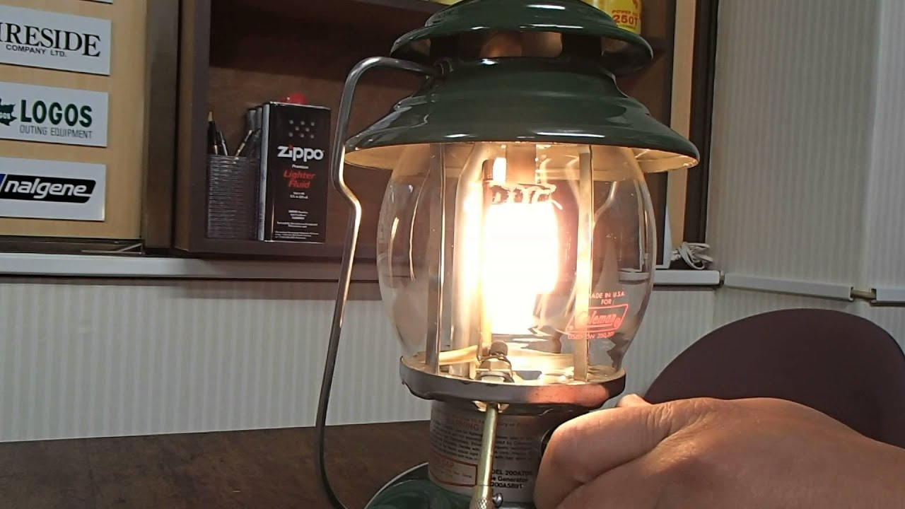 coleman lantern spark igniter instructions