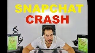 Snapchat Crashes BAD