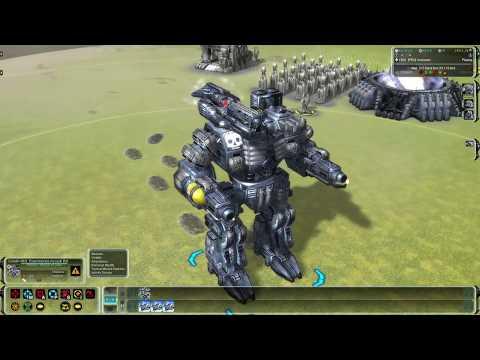 Supreme Commander - Эксперименталки в моде Black Ops (первый взгляд)