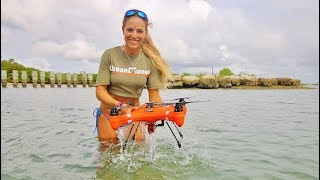WORLD'S FIRST WATERPROOF DRONE