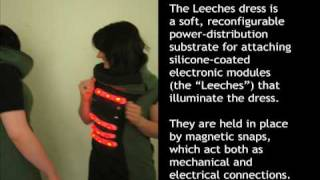The Leeches: reconfigurable power distribution substrate