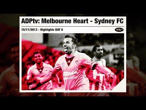 ADPtv | MELBOURNE HEART - SYDNEY FC 0-2 | Highlights 2013/14