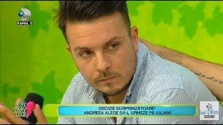 Te vreau langa mine! (13.11.2018) - Andreea a ales sa-l urmeze pe Iulian! Cum a reactiona ...