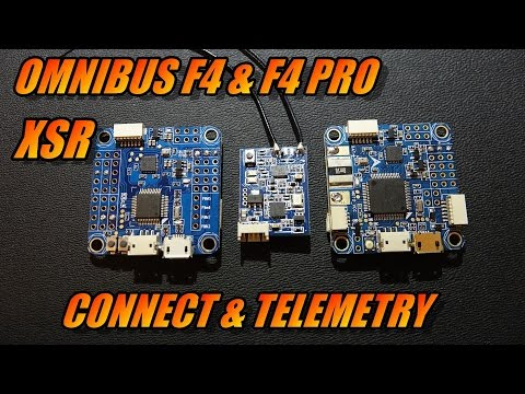 Omnibus F4/F4 Pro & XSR: Connect & Telemetry - Познавательные и