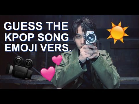 GUESS THE KPOP SONG (EMOJI VERSION)