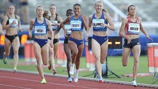 Women's 800m at Memorial Josefa Odlozila 2019
