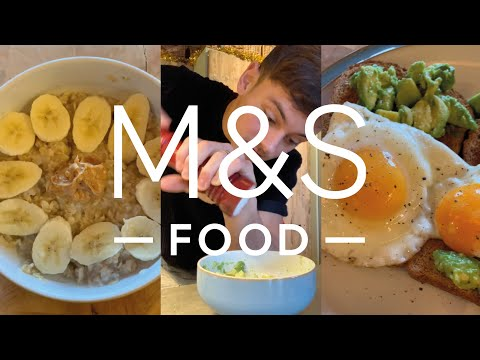 Tom Daley's breakfast faves | M&S FOOD