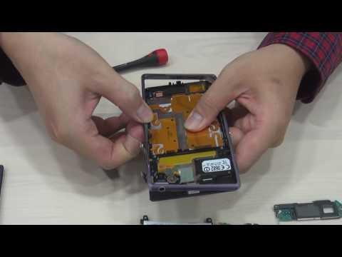 【123phone手機維修快修站】SONY Z1手機維修拆解全紀錄
