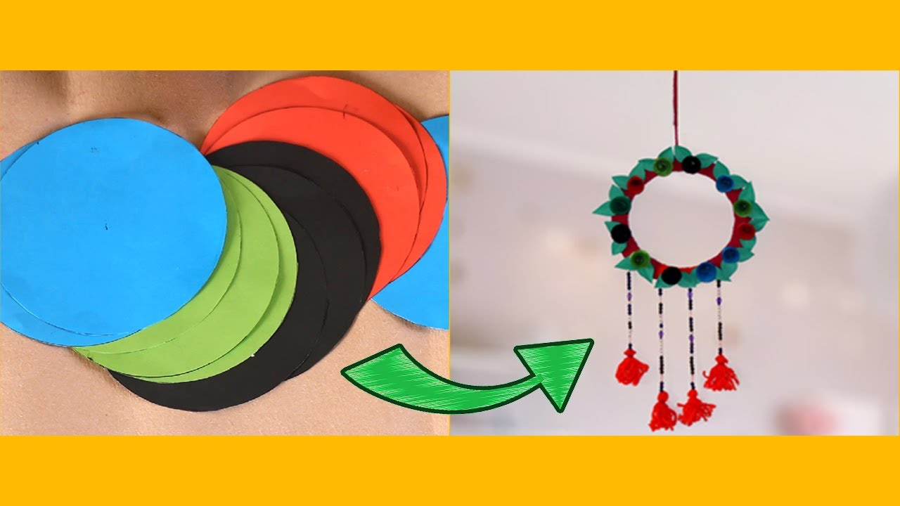Diy Room Decor Hanging Flower 2019 Top Simple 5 Minute Crafts Videos Ideas At Home Youtube