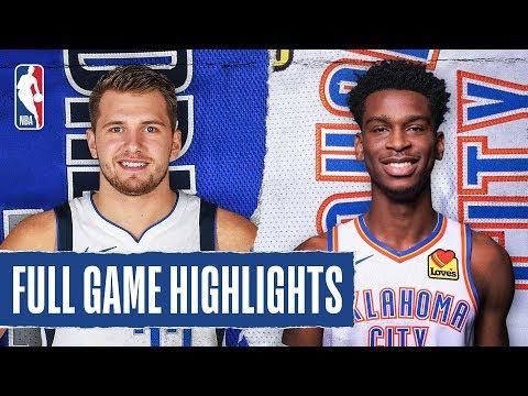 MAVERICKS At THUNDER | FULL GAME HIGHLIGHTS |  December 31, 2019