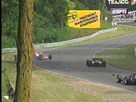 Andre Ribeiro's reckless drive, 1996 CART Road America