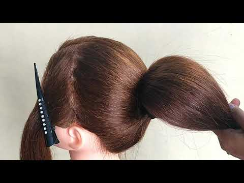 Beautiful !! Hairstyle For Long Hair || Beautiful Hairstyle For Wedding Or Party thumbnail