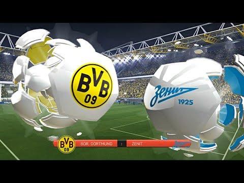 Borussia Dortmund gegen Zenit St.Petersburg - Champions League Achtelfinale Rückspiel (Fifa 14)