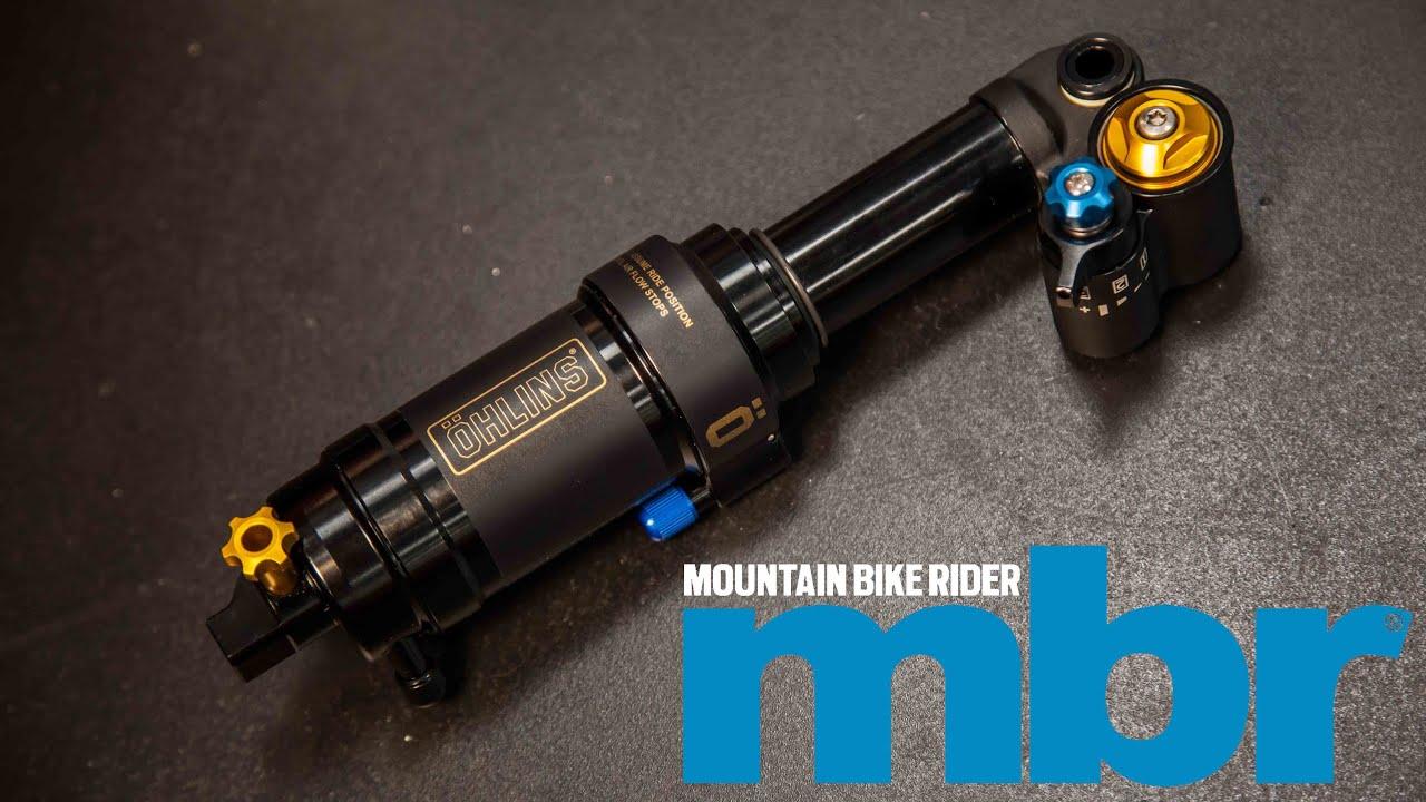Ohlins Stx22 Mountain Bike Shock Exclusive First Look Mbr Youtube