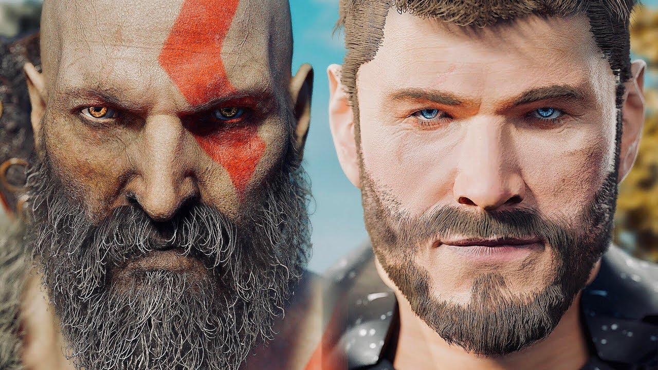 Kratos Vs Thor God Of War Vs God Of Thunder