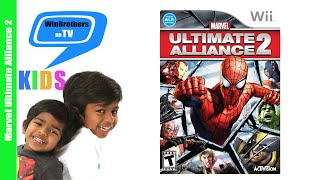 Marvel Ultimate Alliance 2 Wii Game Walk-through | HD Kids Video  | Winbrothers