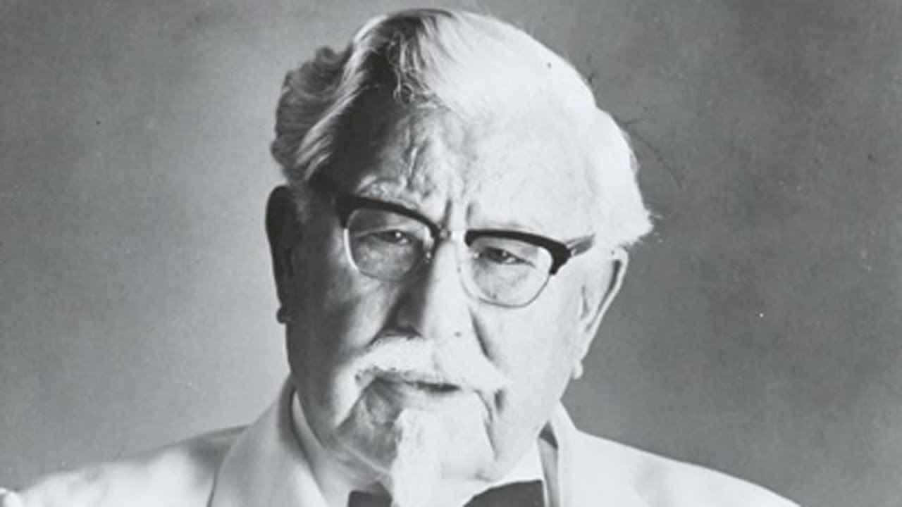 Real Life Story Of Colonel Sanders - Founder of KFC