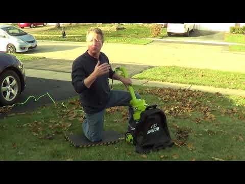 Leaf Blower - Leaf Vacuum - Sun Joe