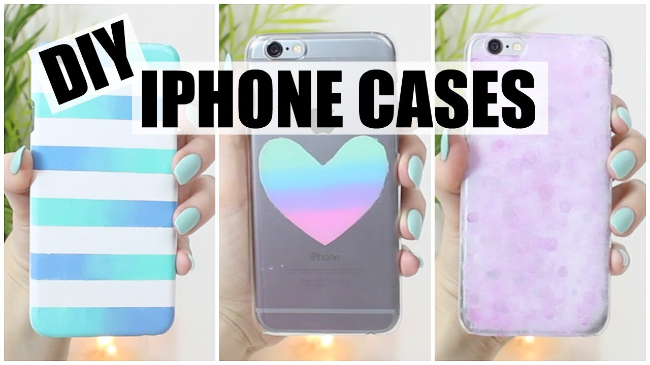 DIY Nail Polish Inspired iPhone Cases - PART 2! - YouTube