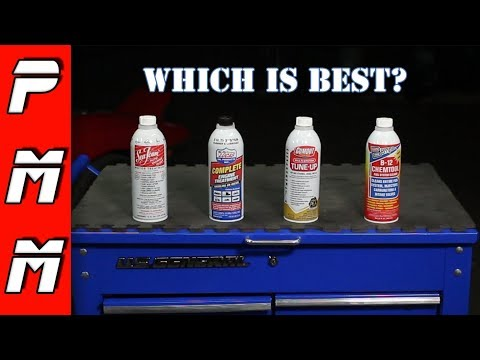 Wich fuel additive is best? B12 Chemtool vs Gumout vs Lucas Oil vs Gumout