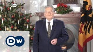 خطاب الرئيس الألماني بمناسبة عيد ميلاد المسيح   الاخبار