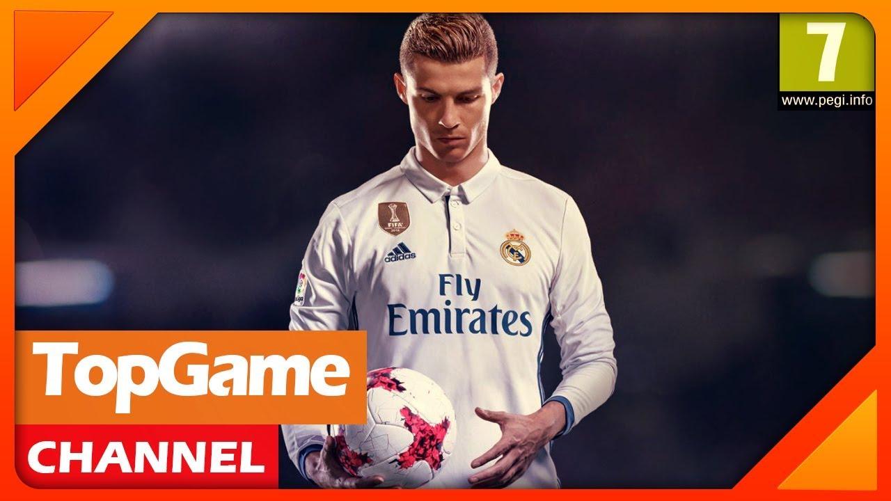 [Topgame] Top 10 game bóng đá & thể thao MỚI hay nhất 2017-2018 | Android-IOS