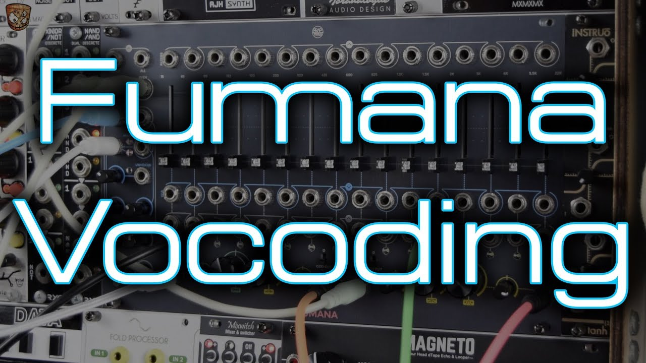 Frap Tools - Fumana - Vocoding with Drums, Vocals & Polyphonic Modular