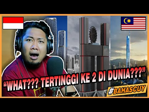 Pencakar Langit Tertinggi Ke 2 Di Dunia 10 Bangunan Pencakar Langit Di Malaysia Dalam Pembinaan Youtube