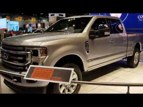 NEW SUPER DUTY 2020 Ford Walkaround - Chicago Auto Show 2019