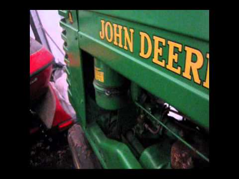 John Deere A with solid state ignition upgrade - YouTube on