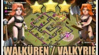 WALKÜRE/VALKYRIE Ck/cw RH8/TH8 vs. RH8/TH8 3 Sterne Let's play CoC Clash of Clans LP DEUTSCH/GERMAN