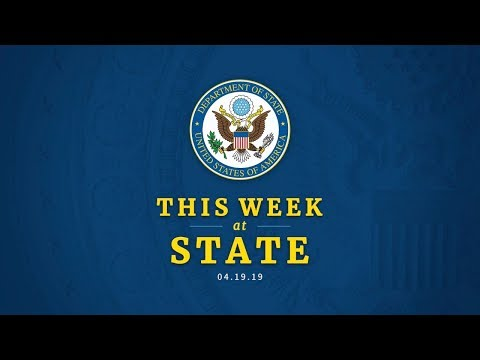 This Week at State: April 19, 2019